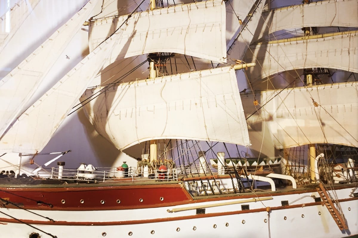 Schiffsmodelle im Stadtgeschichtlichen Museum Wolgast