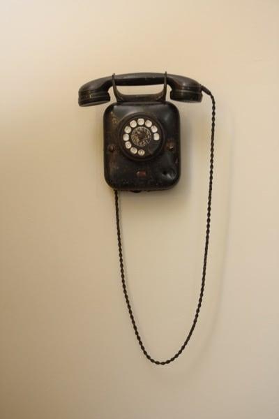 Postel altes Telefon